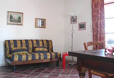 Three roomed apartment in the outbuilding for people with disabilities