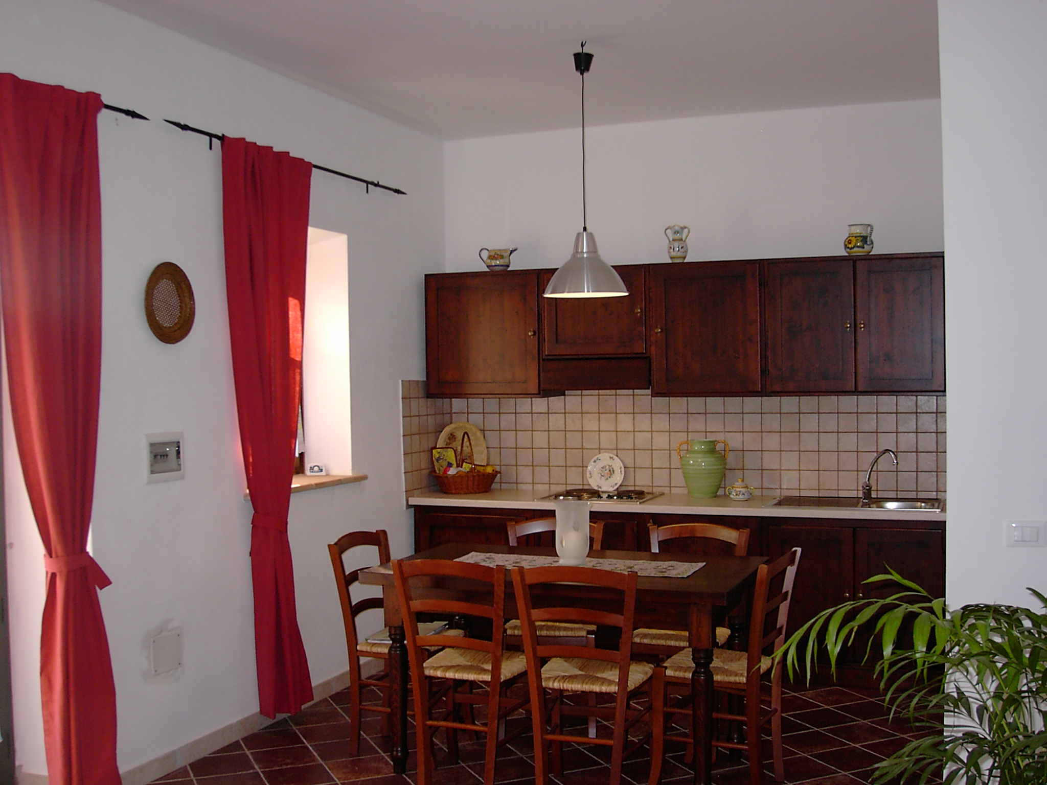 Three roomed apartment per 4/6 people