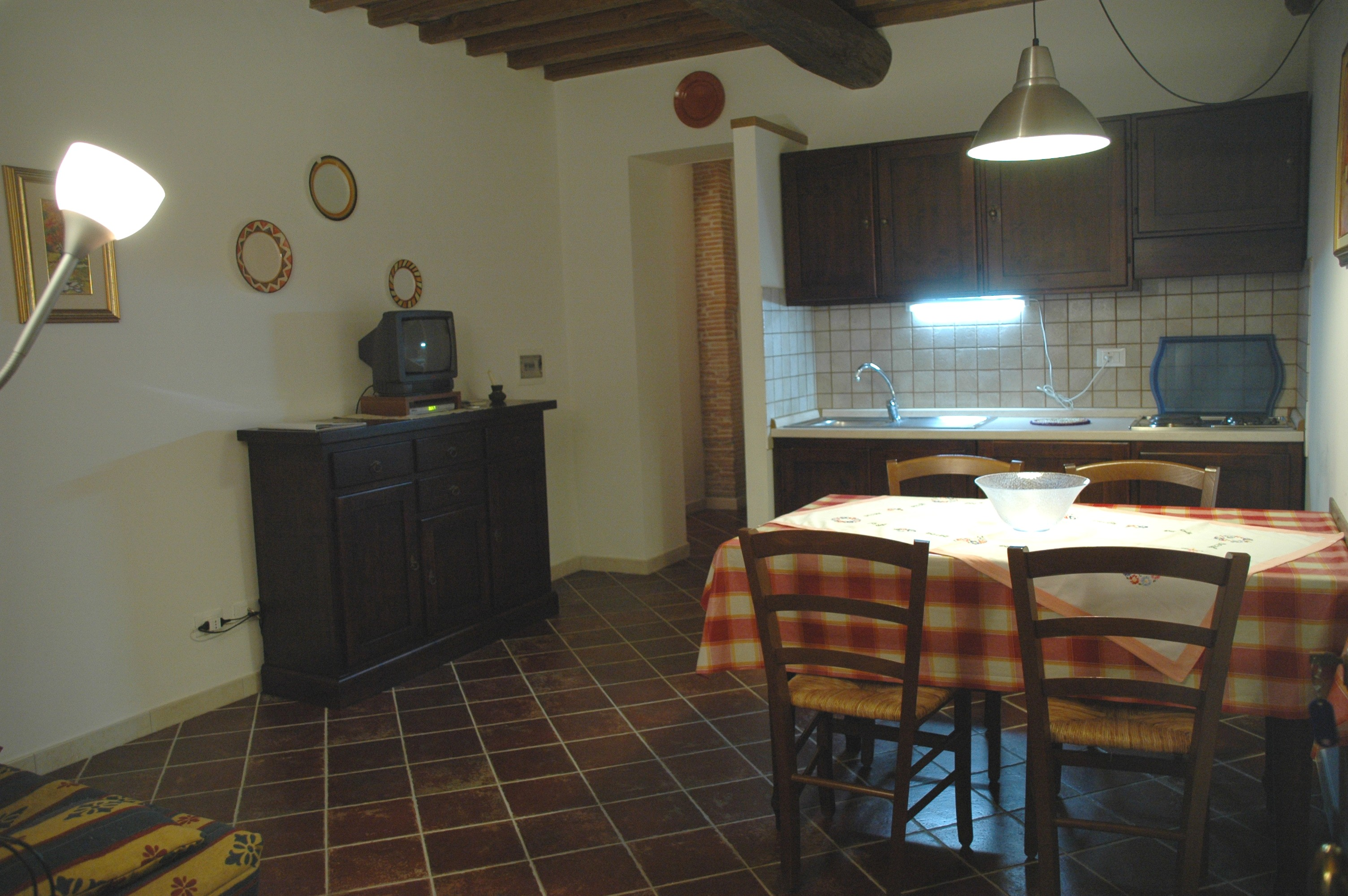 Two roomed apartment per 2/3 people